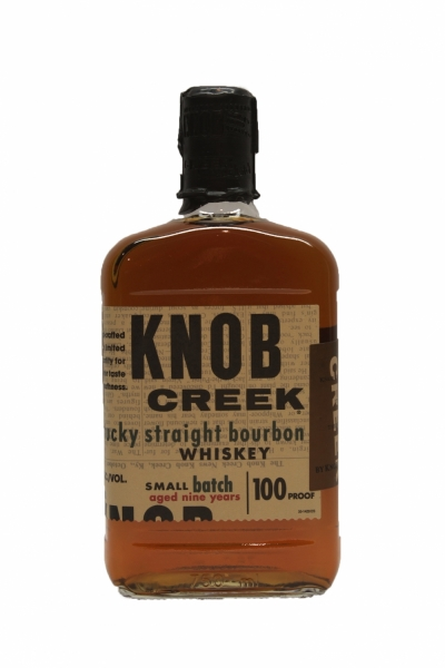 Knob Creek Single Barrel 9 Year Old 100Proof