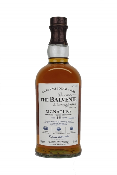 Balvenie Signature 12 Year Old Batch # 4