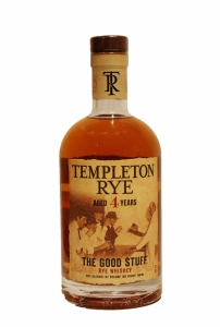 Templeton Rye 4 Years Old The Good Stuff