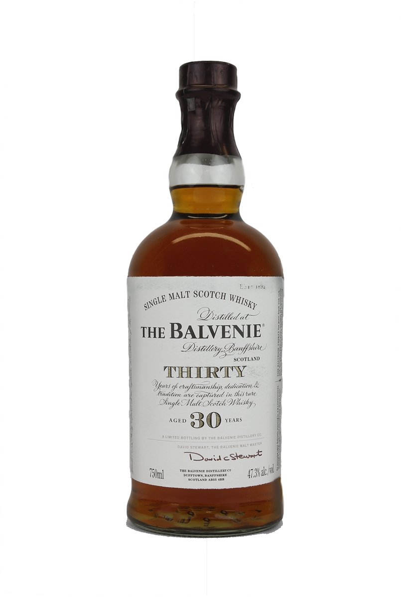 Balvenie 30 Year Old Scotch Whisky : The Whisky Exchange