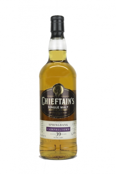 Chieftain's Springbank 39 Year Old