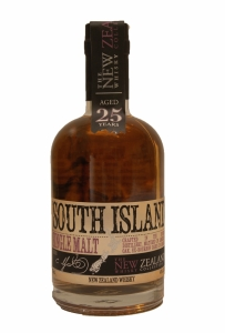 South Island 25 Year Old New Zealand Whisky