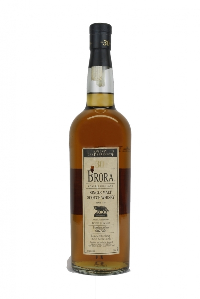 Brora 30 Year Old 2007