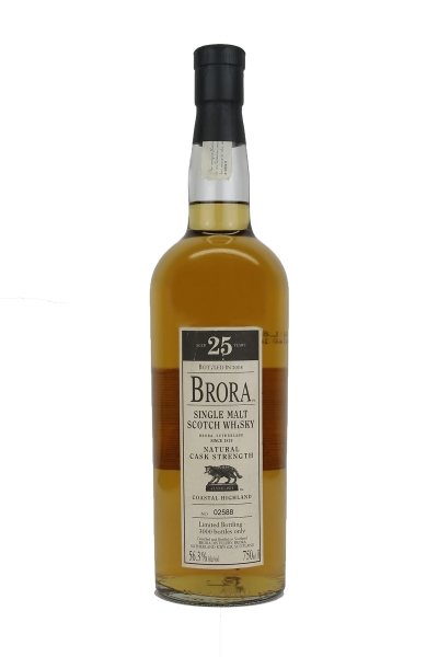Brora 25 Year Old 2008 Cask Strength