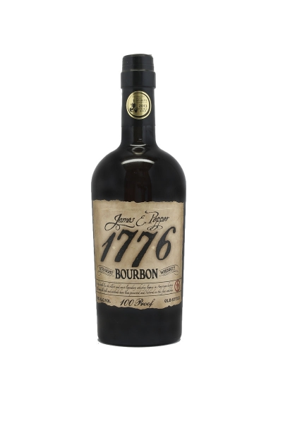 James E. Pepper 1776 Bourbon 100 Proof