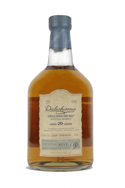 Dalwhinnie 29 Year Old Cask Strength