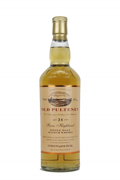 Gordon & MacPhail Old Pulteney 21 Year Old