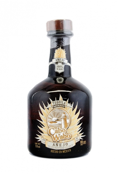 Cabo Wabo Anejo Tequila Old Label