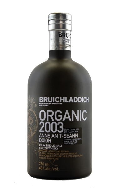 Bruichladdich The Organic 2003