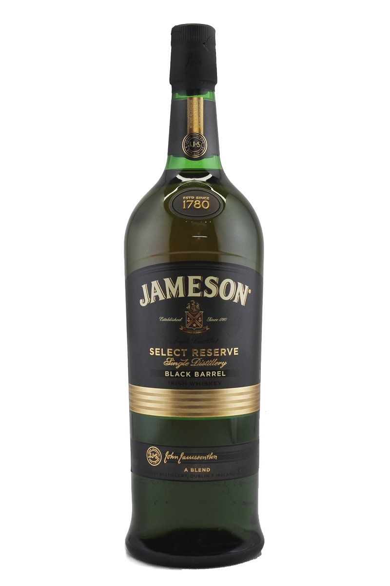 jameson select reserve black barrel liter. Black Bedroom Furniture Sets. Home Design Ideas