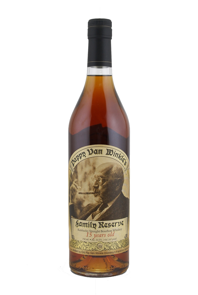 American whiskey pappy van winkle family reserve 15 year old