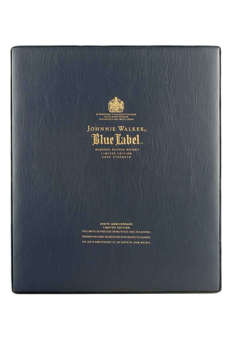 johnnie walker blue label 200th anniversary limited edition. Black Bedroom Furniture Sets. Home Design Ideas