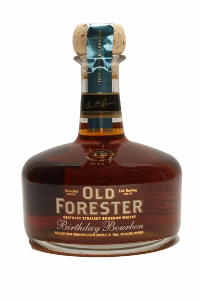 Old Forester 12 Year Old Birthday Bourbon 2015
