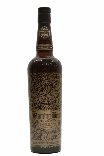 Compass Box Flaming Heart Limited Release bottled 2015