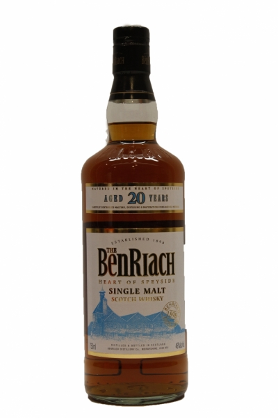Benriach 20 Year Old Oak Cask
