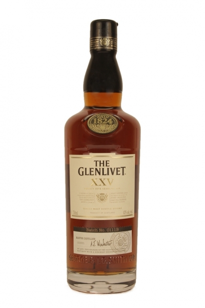 Glenlivet 25 Year Old