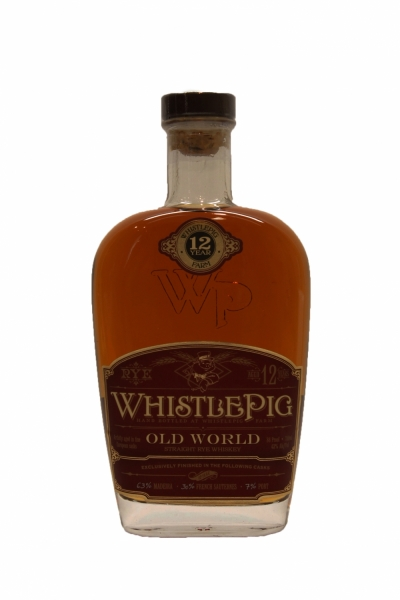 Whistlepig 12 Years Old Old World Straight Rye