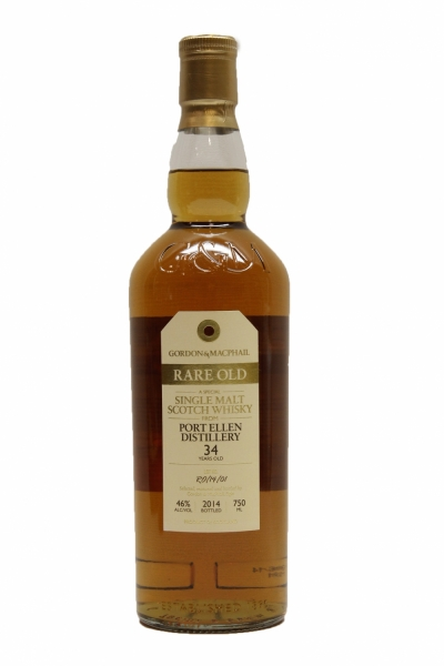 Gordon & Macphail Port Ellen Rare Old 34 Years Old