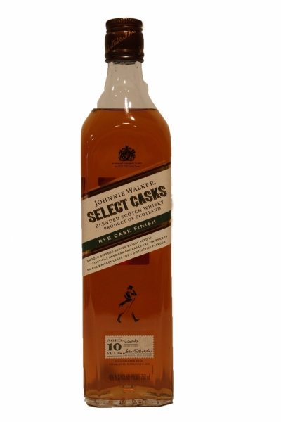 Johnnie Walker Select Casks Rye Cask Finish 10 Year old