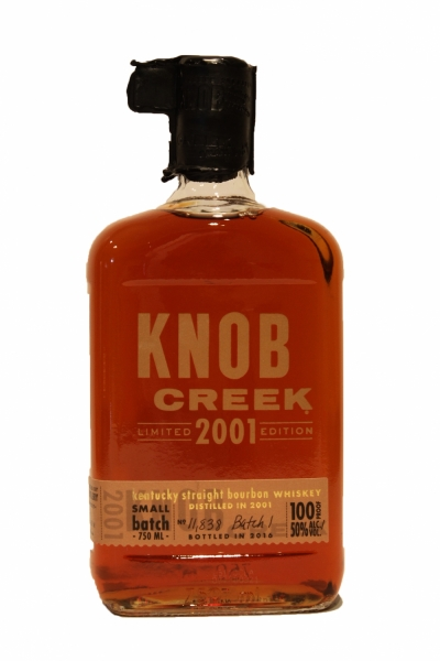 Knob Creek Limited Edition 2001 Small Batch Barrel #1