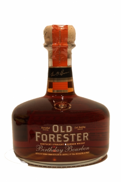 Old Forester 12 Year Old Birthday Bourbon 2016