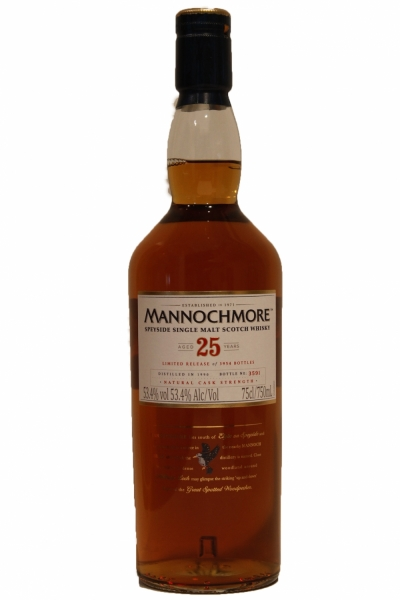 Mannochmore 25 Years Old Limited Release 2016