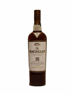 Macallan 18 Year Old Sherry Oak 2016