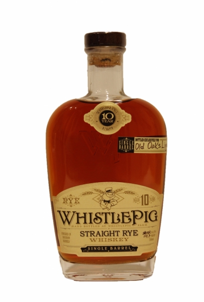 Whistle Pig Straight Rye 10 Years Old Batch#1 Old Oaks
