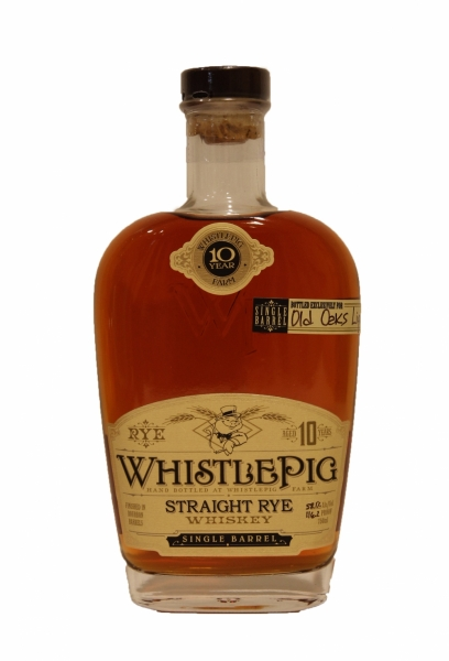 Whistle Pig Straight Rye 10 Years Old Batch#2 Old Oaks
