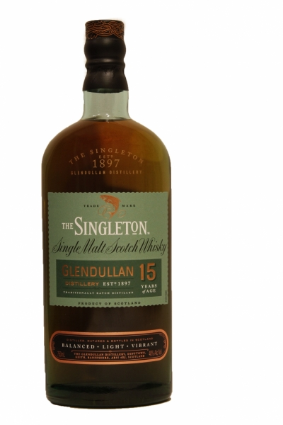 Singleton Glendullan 15 Years Old