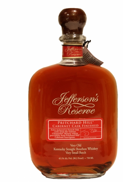 Jefferson's Reserve Pritchard Hill Cabernet Cask Finish Very Old