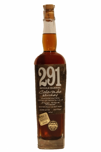291 Small Batch Colorado Rye Whiskey 101.7 Proof