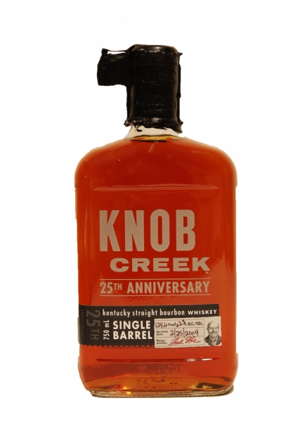 Knob Creek 25th Anniversary Single Barrel 124.6 Proof