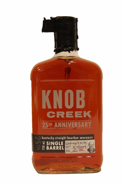 Knob Creek 25th Anniversary Single Barrel 123.4 Proof