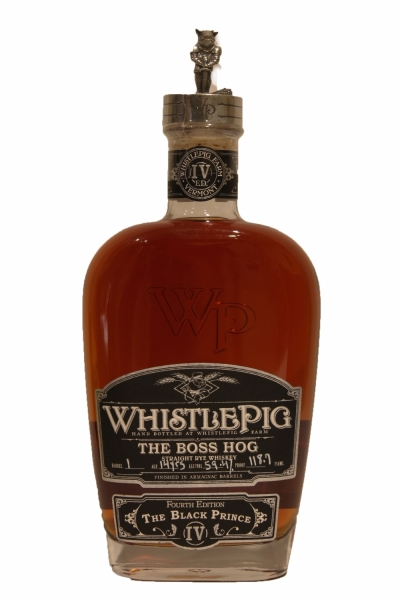 Whistle Pig Boss Hog The Black Prince