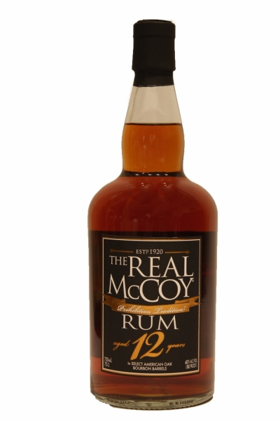 The Real McCoy Rum 12 years Old