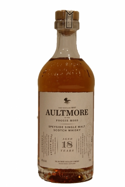 Aultmore of the Foggy Moss 18 Years Old