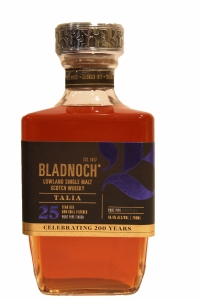 Bladnoch 25 Years Old Talia Port Pipe