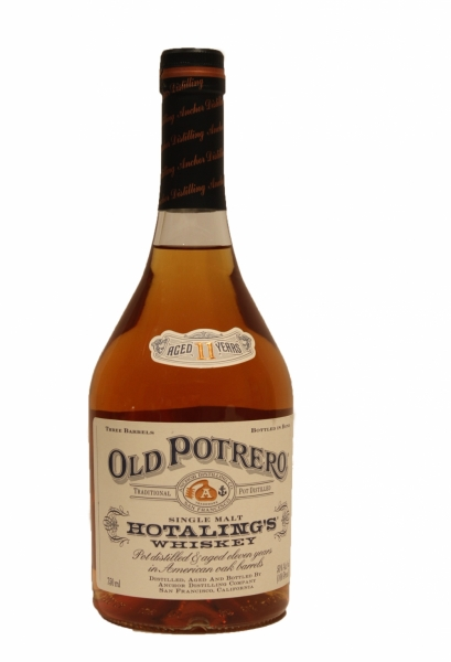 Old Potrero Hotaling's 11 Year Old Single Malt Whiskey