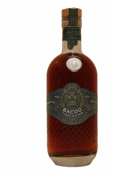 Bacoo 5 Year Old Rum