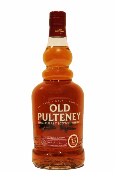 Old Pulteney 35 Year Old.