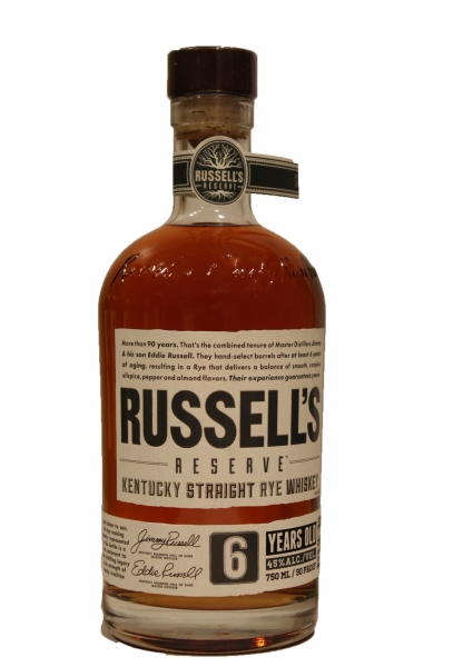 Russell's Reserve  6 Years Old Straight Rye