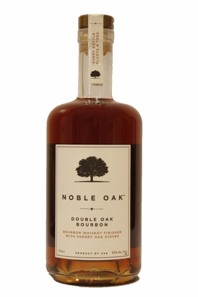 Noble Oak Double Oak Bourbon Finished with Sherry Oak Staves