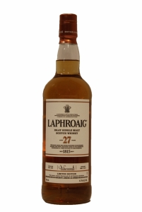 Laphroaig 27 Year Old Double Matured 2017 Limited Edition