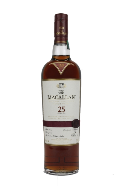 Macallan 25 Year Old Sherry Oak
