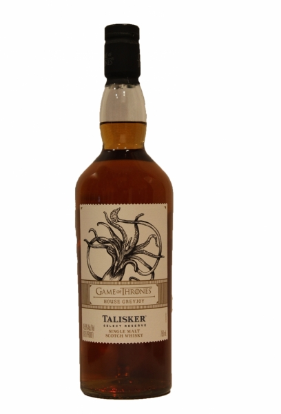 Game Of Thrones House Greyjoy Talisker Select Reserve Limited Edition