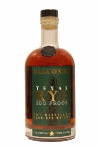 Balcones Texas Rye Pot Stilled