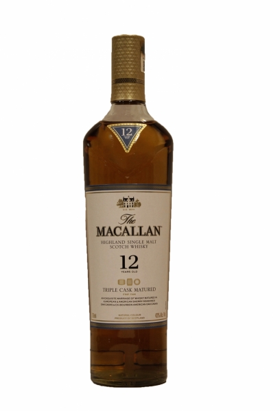 Macallan 12 Years Old Triple Cask 2018