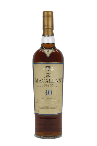 Macallan 30 Year Old Sherry Cask Vintage Label