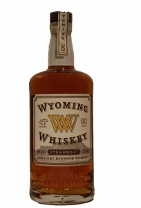 Wyoming Steamboat Bourbon Whiskey